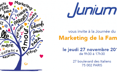 IDM's intervention, November 27 : The marketing for families' day , Junium agency