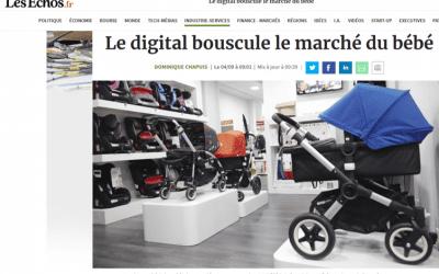 Le digital bouscule le marché du bébé
