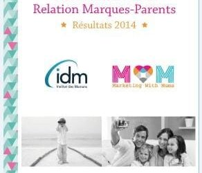 Exclusive figures and findings from our 1st Barometer survey on 'Relationship between Brands and Parents'